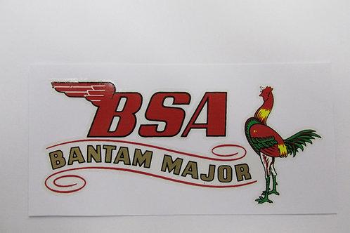 BSA Bantam D3 'Major' Transfer, K296 / 5001B