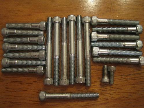 BSA A50/A65 1969> Engine Bolt Set, ASS139 / 140