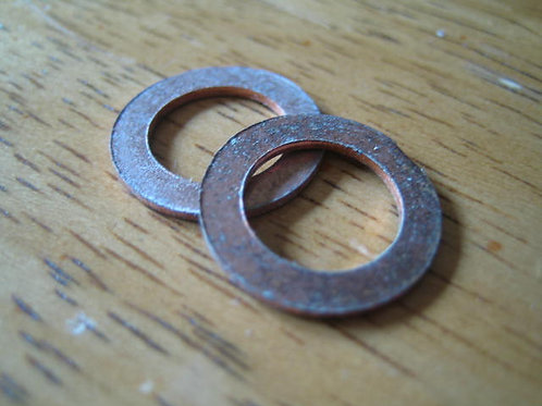 Pair Copper Washers, AA80