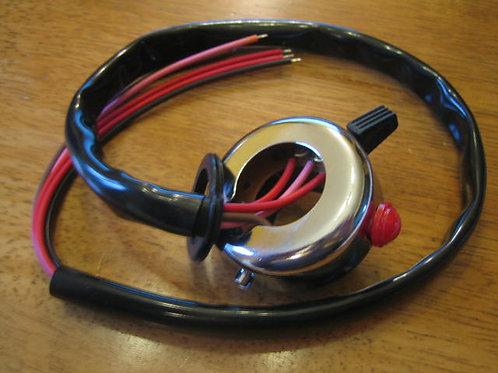 Wipac Tricon Replica Horn/Dip Switch, 10129