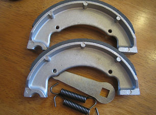 Brake Shoes, Springs, Levers, Covers & W