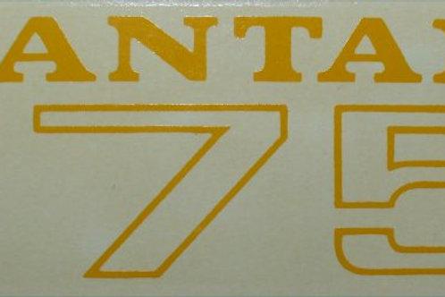 BSA Bantam B175, Yellow, 49334.
