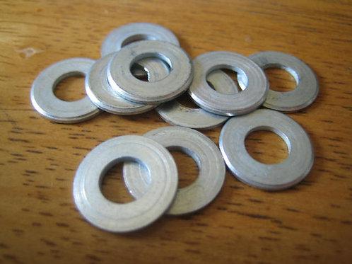"""1/4"""" Plain Flat Washers, (10), 04054"""