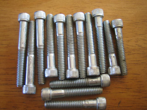 BSA A7/A10 Chaincase Cover Bolt Set, ASS11