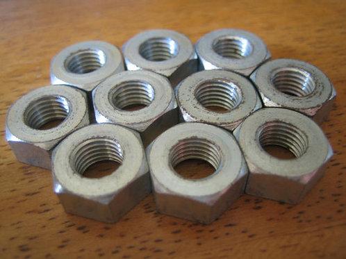 """5/16"""" x 26 TPI Nuts, (10), NB225"""
