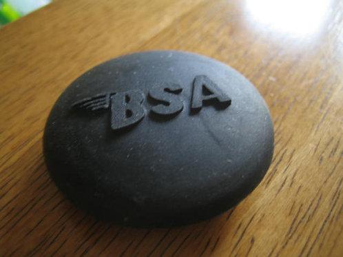 BSA Logo'd Petrol Tank Centre Shallow Rubber, 26174