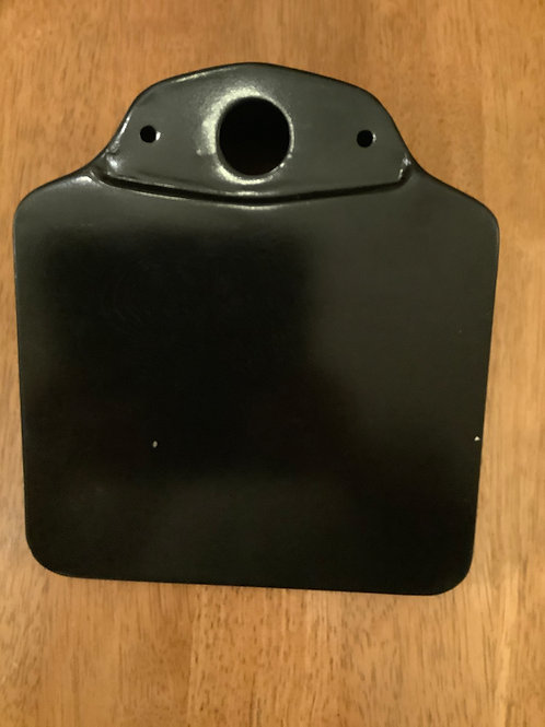 Boxed Rear Number Plate Bracket, Without Reflector. 42-6887