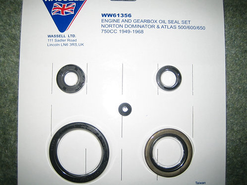 Oil Seal Set, 61356