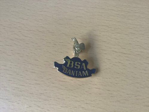 BSA Bantam Blue Lapel Badge. LB14F