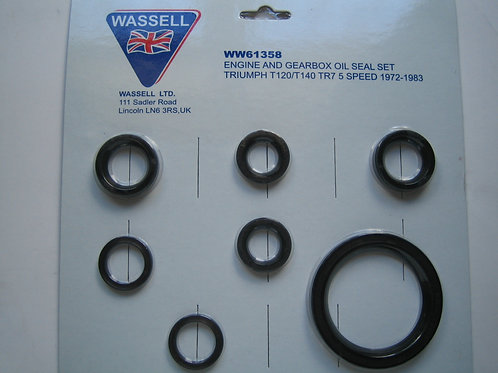 Oil Seal Set, 61358