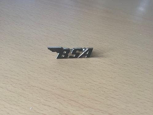 BSA Black 'Wing' Cut-Out Lapel Badge. LB13B