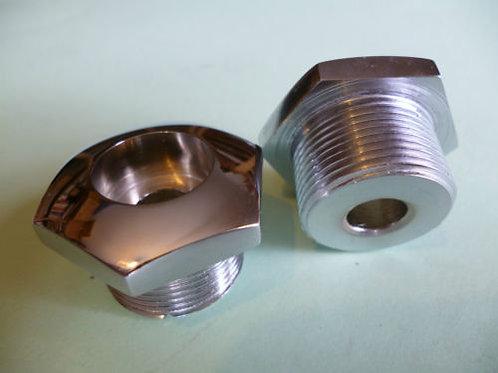Bantam & Triumph Fork Top Nuts, H332, 61463
