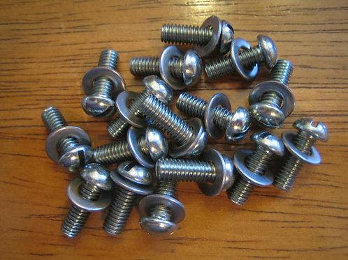 Set Of 16 Chaincase Cover Screws, 01-4606