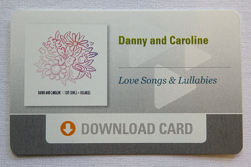 Love Songs & Lullabies EP Download Card