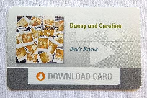 Bee's Kneez EP Download Card