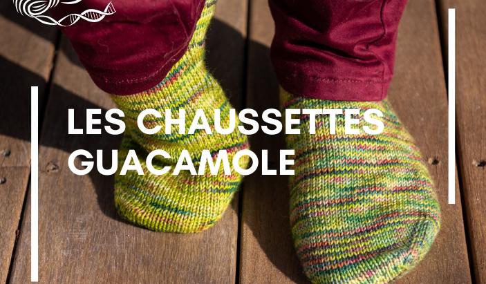 Les chaussettes Guacamole
