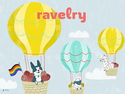Utiliser Ravelry