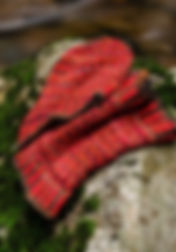 Patron tricot du bonnet et col Arlequin