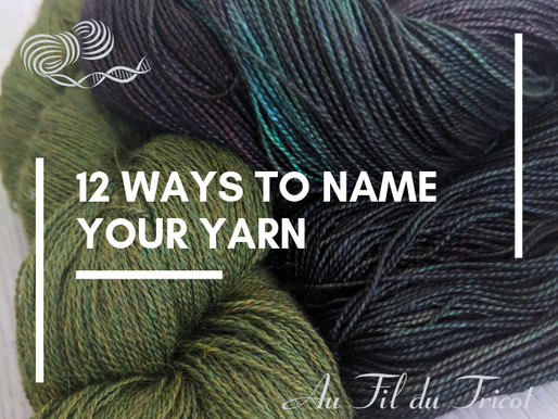 12 ways to name your yarn
