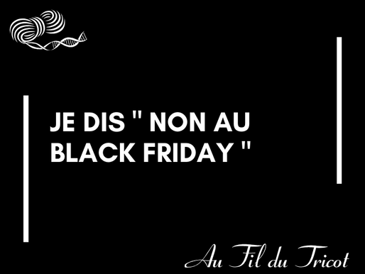 Pourquoi  je consomme peu lors du Black Friday