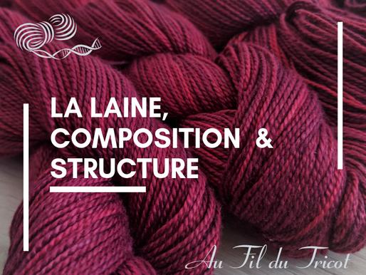La laine - Composition Structure et Grosseur de fil