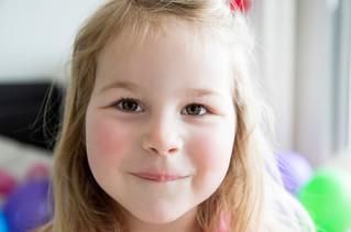 Fête d'anniversaire, 4 ans de Léonie