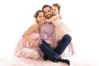 Sarah & family, grossesse
