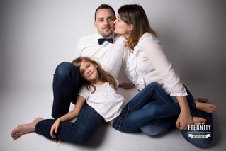 Faustine et sa famille…