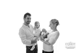 Oscar, séance photo nouveau-né et famille