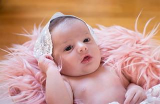 Rose, nouveau-né