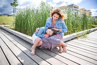 Sandrine & family, grossesse