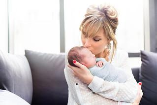 Ange, nouveau-né à domicile