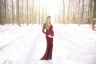 Sabrina, grossesse sous la neige