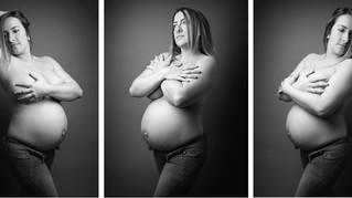 Audrey, séance maternité