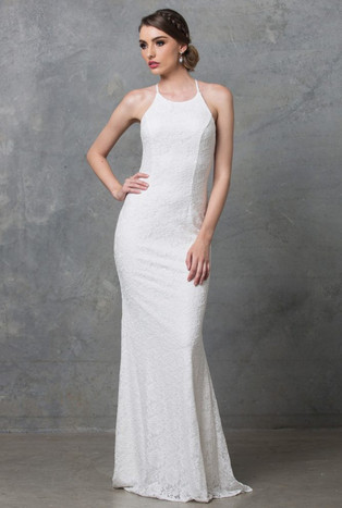 PO70 Sadie Lace Vintage White