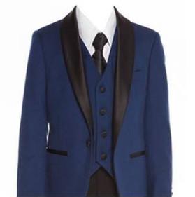 640 Navy slim fit suit/tuxedo