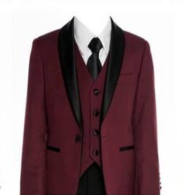 640 Burgandy slim fit suit/tuxedo