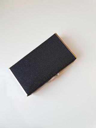 coby hot fix clutch - black