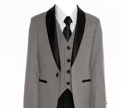640 Grey slim fit suit/tuxedo