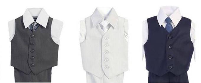 4 Piece Vest Suits