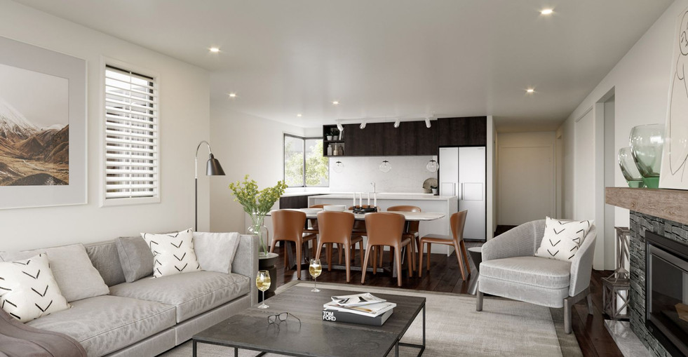 Cardona Townhouse Living Room