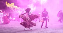 Bailando en la ciudad