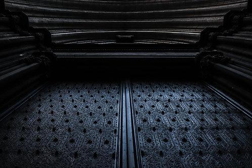 Puerta del gótico