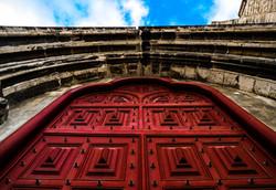 The door to the ruins
