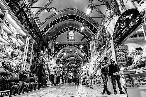 Los pasillos del bazar
