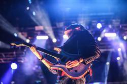 Guitarra en lo alto