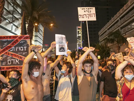 Israel Protesting Amidst Highest Covid-19 Infection Rate Globally