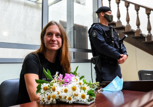 "Russian Journalist found guilty of ""Justifying Terrorism"""