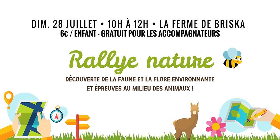 Rallye nature • Epreuves avec la faune et la flore !