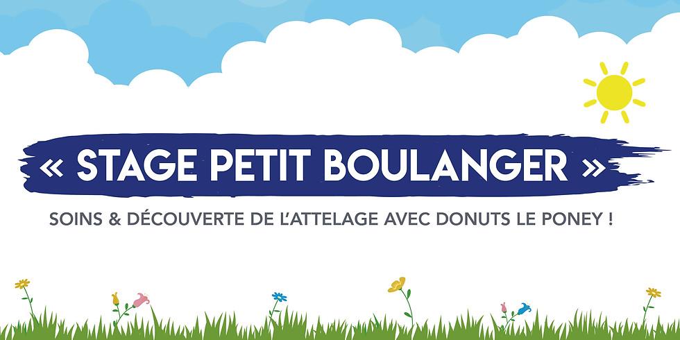 """Stage """"Petit Boulangers"""" • Tout âge"""